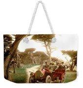 Royal Tourist Touring Car On The 17 Mile Drive Pebble Beach California Circa 1910 Weekender Tote Bag