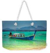 Tourist Longboat Weekender Tote Bag
