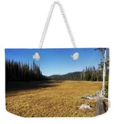 Towards Hand Lake And Mt Jefferson Weekender Tote Bag