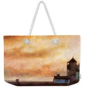 Towards The Shore Weekender Tote Bag by Pixel Chimp