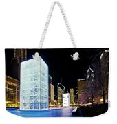 Tower Blue Weekender Tote Bag