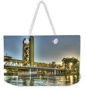 Tower  Bridge 2 Sacramento Weekender Tote Bag