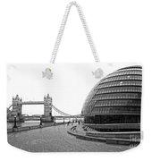 Tower Bridge And London City Hall - Uk Weekender Tote Bag