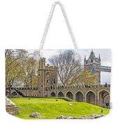 Tower Bridge And London Tower Weekender Tote Bag