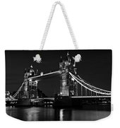 Tower Bridge Evening Weekender Tote Bag