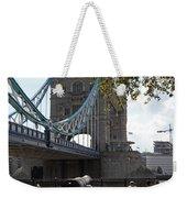Tower Bridge In The City Of London Weekender Tote Bag