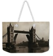 Tower Bridge London 1906 Weekender Tote Bag