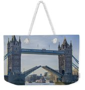 Tower Bridge Opened Weekender Tote Bag