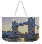 Tower Bridge Sunrise Weekender Tote Bag