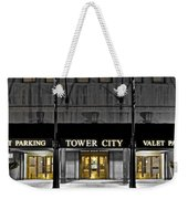 Tower City In Cleveland Ohio Weekender Tote Bag