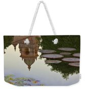Tower In Lotus Position Weekender Tote Bag