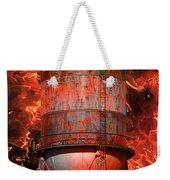 Tower Inferno Weekender Tote Bag