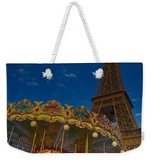 Carousel Tower Weekender Tote Bag