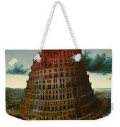 Tower Of Bable Weekender Tote Bag