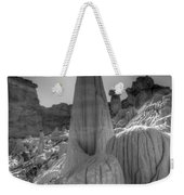 Tower Of Silence Monochrome Weekender Tote Bag