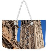 Tower Of The Seville Cathedral Weekender Tote Bag