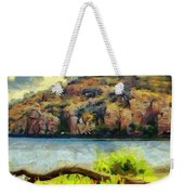 Tower On The Bluff Weekender Tote Bag