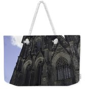 Tower Scaffolding Cologne Cathedral Weekender Tote Bag