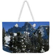 Towering Above Lies The Grand Weekender Tote Bag