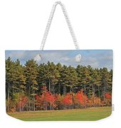 Towering Evergreens Weekender Tote Bag