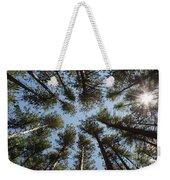 Towering White Pines Weekender Tote Bag