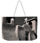 Towers In Sepia Weekender Tote Bag
