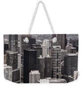Towers Of Chicago Weekender Tote Bag