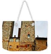 Towers Of San Gimignano Weekender Tote Bag