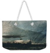 Town At Dusk Weekender Tote Bag by Victor Hugo
