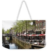 Town Canal - Delft Weekender Tote Bag