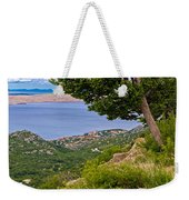 Town Of Karlobag And Island Of Pag Weekender Tote Bag