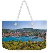 Town Of Kukljica Aerial View Weekender Tote Bag