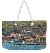 Town Of Kukljica On Ugljan Island Weekender Tote Bag