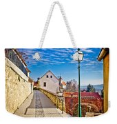 Town Of Varazdinske Toplice Walkway Weekender Tote Bag