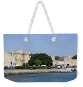 Town Wall - Rhodos City Weekender Tote Bag