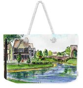 Towne Center Weekender Tote Bag