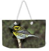 Townsends Warbler Weekender Tote Bag