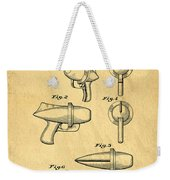 Toy Ray Gun Patent Weekender Tote Bag