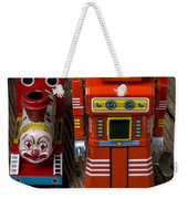 Toy Robot And Train Weekender Tote Bag