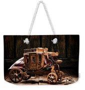 Toy Stagecoach Weekender Tote Bag