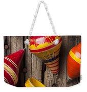 Toy Tops Weekender Tote Bag by Garry Gay