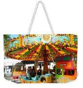 Toy Town Carousel  Weekender Tote Bag