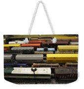Toy Trains Weekender Tote Bag
