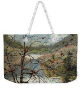 Traces Of Autumn Weekender Tote Bag