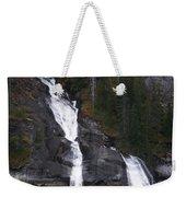 Tracey Arm Fjord Waterfall Weekender Tote Bag