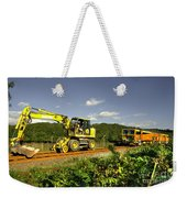 Track Machines  Weekender Tote Bag