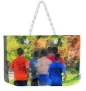 Track Practice Weekender Tote Bag by Susan Savad