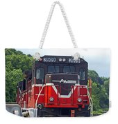Track Star Weekender Tote Bag
