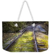 Tracks Along The River Weekender Tote Bag