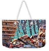 Tracks And Textures Weekender Tote Bag